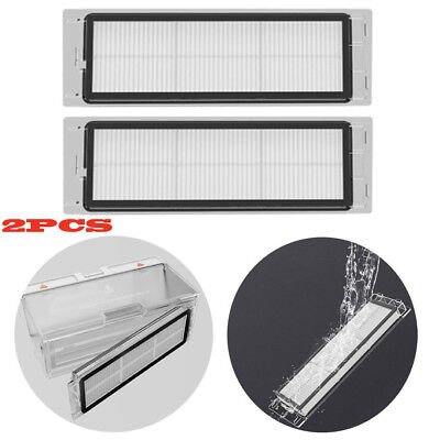 2PC Replacement Washable HEPA Filters For Xiaomi Mi Robot Robotic Vacuum Cleaner