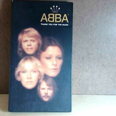 Abba - Thank You For The Music (Box Set) (CD, 4 Discs, 1994, Polar) 3179