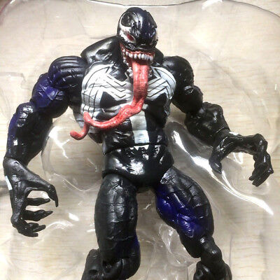 """Rare Marvel Legends Classic VENOM Spider-man with tail 6"""" Figure Hasbro toy gift"""