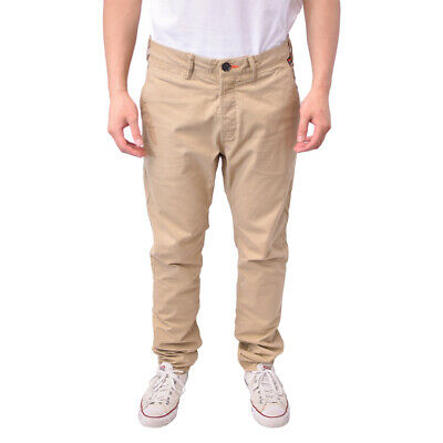 SuperDry Men's Desert Beige Rookie Chino Pants (Retail $60)