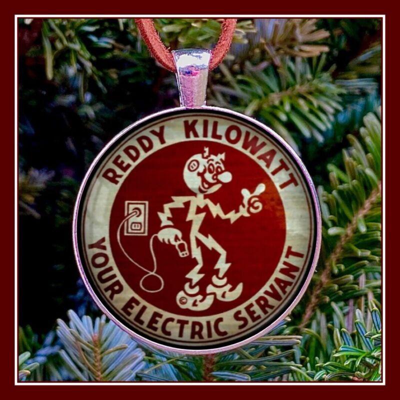 Reddy Kilowatt Emblem Sign Photo Ornament Gift Collectible Free Shipping