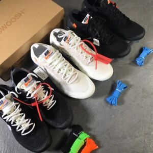 Nike off white vapormax full collection with all sizes