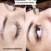 Eyelash extensions & lash lift models needed