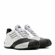 Adidas Basketball Mens TMAC 1 Tracy McGrady Silver Black BasketBall Shoes G59092