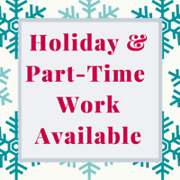 Student Work Positions – Part-Time & Holiday Work