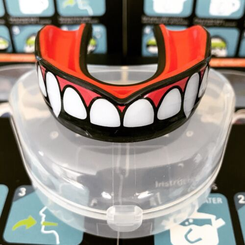 MMA Mouth Guard BJJ Boxing Karate (Vampire Fangs)(2 Sizes) Direct from Oral Mart