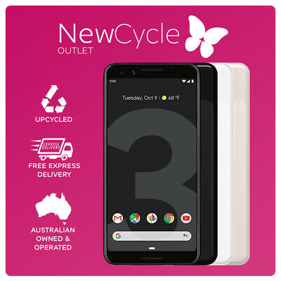 Android Phone - Brand New Google Pixel 3 64/128GB All Colours Network Unlocked