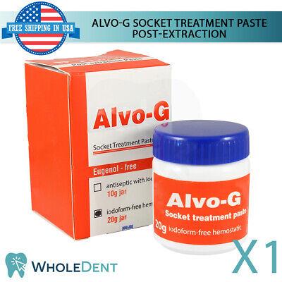 Alvo-g Dry Socket Treatment Paste Post Teeth Extraction Cure Dental Non Iodoform