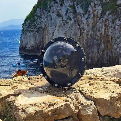 """Dome 6"""" Mooring Cover Underwater Photography Diving for GoPro Hero3+ 4 Camera"""