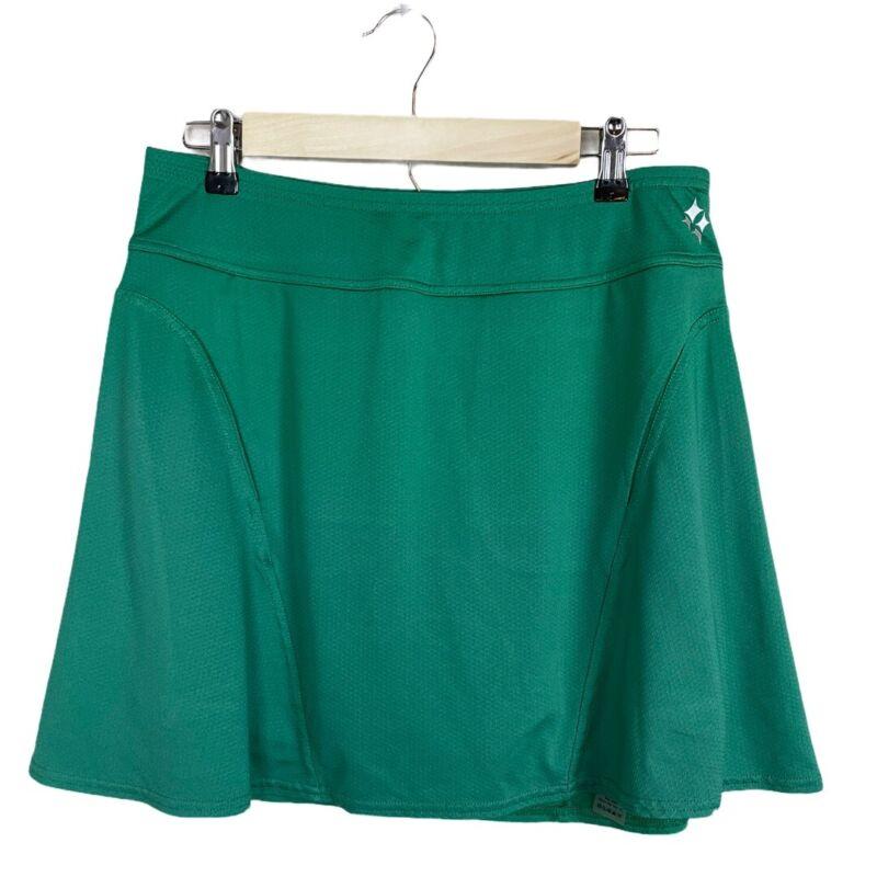 Jofit Golf Swing Skirt Green Size M Slit Pockets Skort Stretch