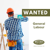 Great General Labour Positions