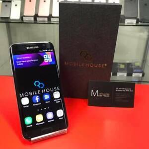Samsung S7 Edge Black 32GB Dual Sim With Warranty Preowned