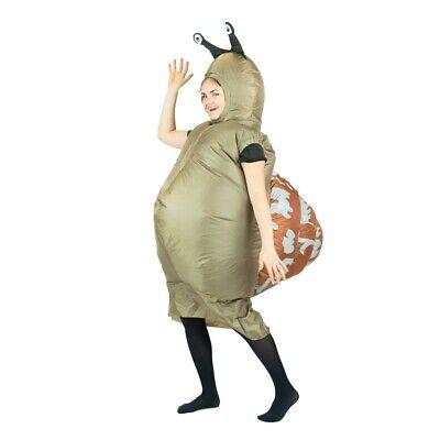 Bodysocks® Snail Slug Garden Bug Insect Inflatable Costume Slimey Halloween