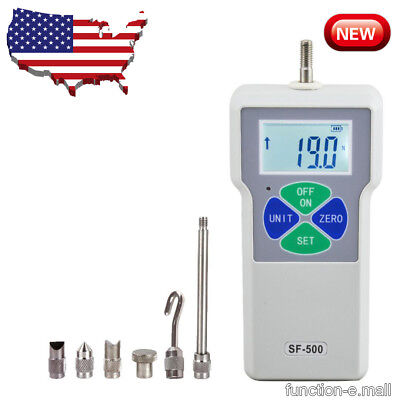 New LCD Digital 500N/50Kg/110Lb Dynamometer Push Pull Force Gauge Tester Meter