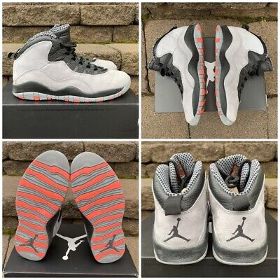 best loved 360c2 bb09f Air Jordan 10 - Cool Grey Infrared-Black - Men s Size 9 VNDS+SHIPS TODAY!