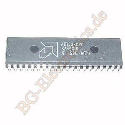Amd Am5380pc Dip-40 Scsi Bus Interfacecontroller