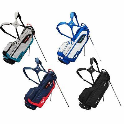 Mizuno 2020 Golf BRD-3S Stand Bag Mens Dual Strap Carry Bag 4 Way Divider
