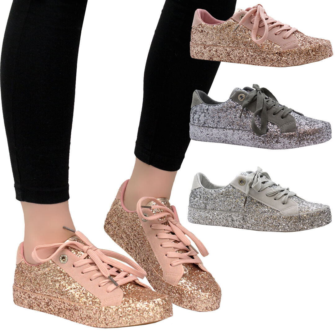 Womens Flat Trainers Zip Up Sneakers Shoes Ladies Casual Sport Pumps Shoes Size