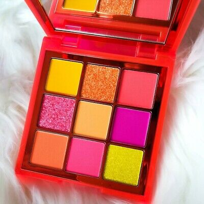 Huda Beauty Neon Obsessions NEON ORANGE Eyeshadow Palette 100% AUTHENTIC BNIB
