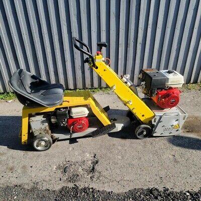 Von Arx 12 Concrete Asphalt Scarifier Va 30 Vf85 Sit Cart Honda 13 Hp Sulky