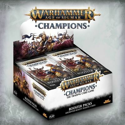 Champions Warhammer Age of Sigmar TCG CCG Booster Box Sealed Next wave