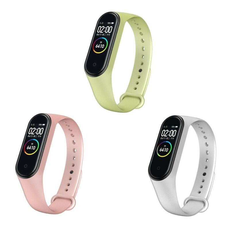 For Xiaomi Mi Band 4/3 Silicone Bracelet Strap  Smooth Wrist