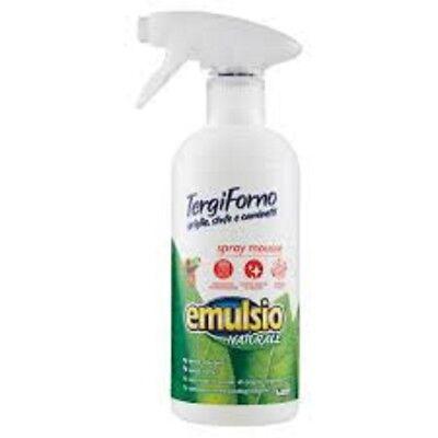 Seite Backofen (Emulsio Rückseite Backofen Spray Mousse Grids Öfen Kamine 500 ML Sauberkeit Haus)