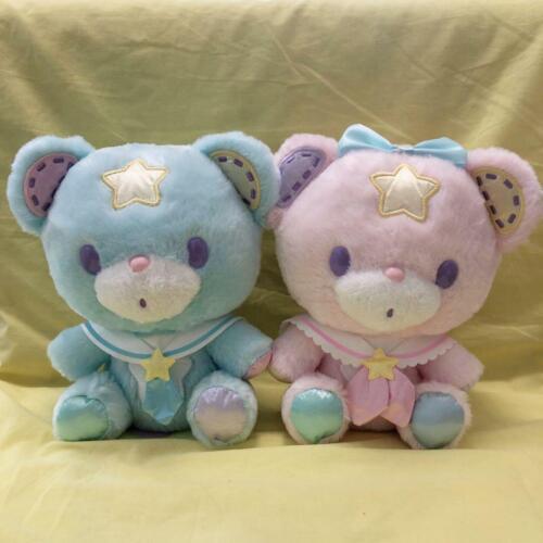 Sanrio Little Twin Stars Puff Poff  Cute Bear Plush Mascots 45th anniversary