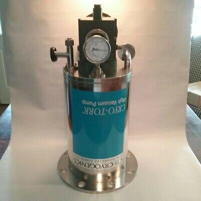 Cti Cryogenics Cryo-torr 8 Cryopump Pn 8033168 Sn 16g835120
