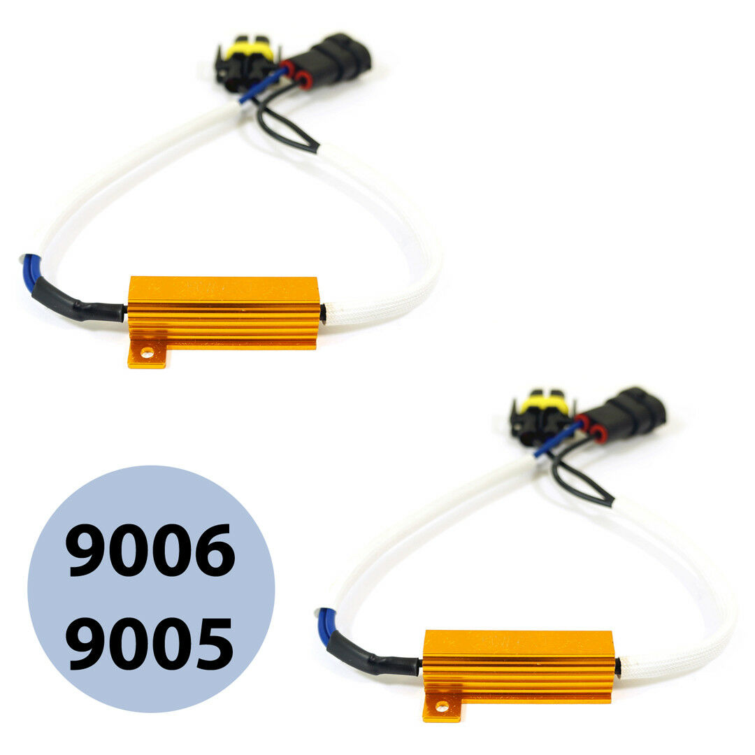 Details about 9006 LED Light Xenon HID headlight No Error Load Resistor on