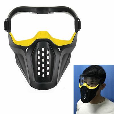 Kinder Vollgesichtsmaske Schutzmaske Gesichtsmaske Brille für Nerf Darts Spiel