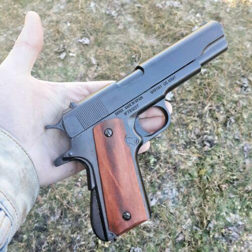 Denix M1911 A1 Pistol Non-Firing Replica Colt Simulated Firing/Loading World War