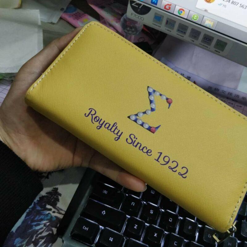 Sigma Gamma Rho Clutch Wallet