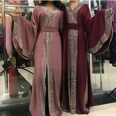 New Dubai Style Abaya Wedding Abayas Burkha Farasha Jalabiya Jilbab Dress Kaftan