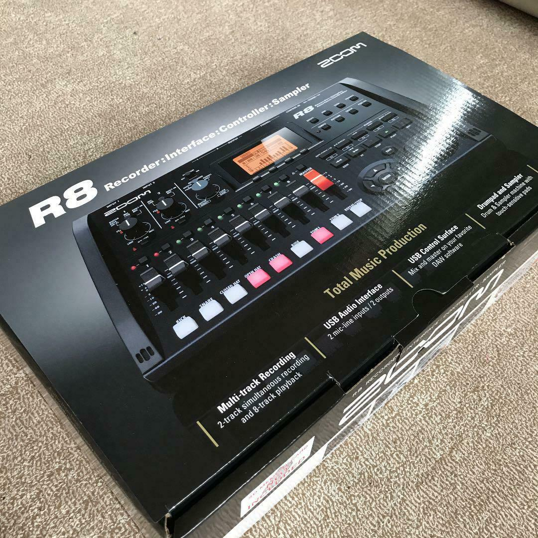 New Zoom R8 Multi Track Recorder Audio Interface From Japan
