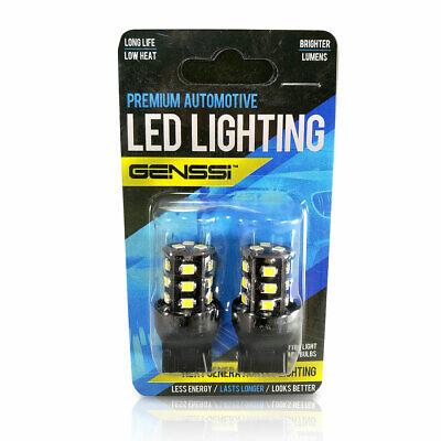 7440 LED FLASHING Flash Safety Backup Reverse Light Bulb 6000K White Bright