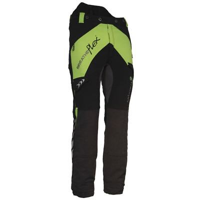 Arbortec Breatheflex Black/Lime Chainsaw Trousers REG Type A Class 1 - XL