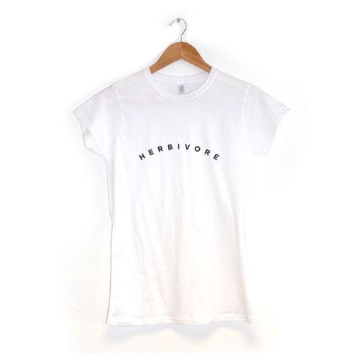 Herbivore Damen T-Shirt Hipster Vegan Vegetarisch Indie Kleidung
