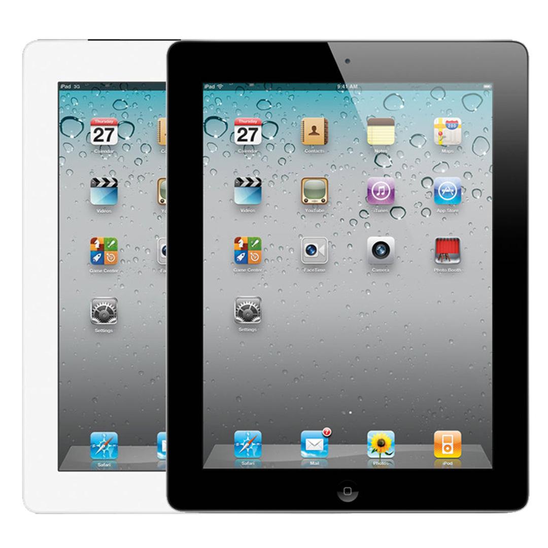 Apple iPad 2 16GB Verizon GSM Unlocked Wi-Fi & Cellular - Black & White