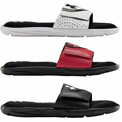 Under Armour 2020 Mens Ignite VI Slides 4D Performance Adjustable Strap Sandals