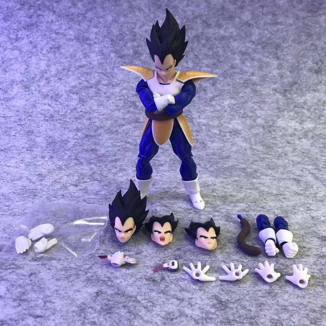 S.H.Figuarts Dragon Ball Z SHF Super Saiya Vegeta Ver 2.0 PVC Figure New in Box