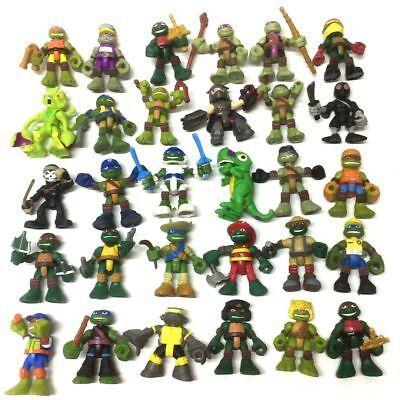 random 5PCS TMNT Half-Shell Heroes Teenage Mutant Ninja Turtle Collectible toys (Teenage Mutant Ninja Turtle Shell)