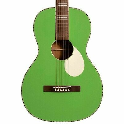 Recording King RPS-7-GN Dirty 30s Series 7 Single 0 Acoustic Guitar, Green