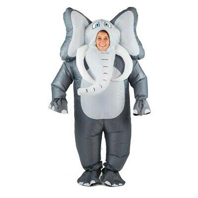 Full Body Animal Costumes (Bodysocks® Inflatable Elephant Costume Full Body Halloween Animal Safari)