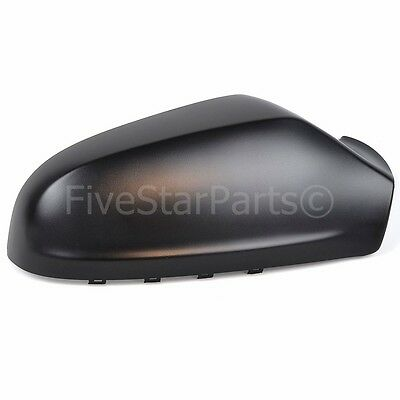 Right DRIVER SIDE WING DOOR BLACK MIRROR COVER FOR VAUXHALL ASTRA H  2004 2008