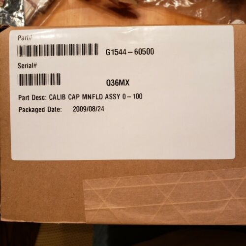 Genuine Agilent S/SPL EPC module, 0 - 100 psi, series 6890 Part # G1544-60500