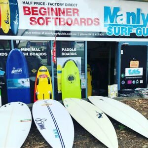 Huge Beginner Surfboard Sale! Softboards & Epoxy Surfboards 1/2 Price!