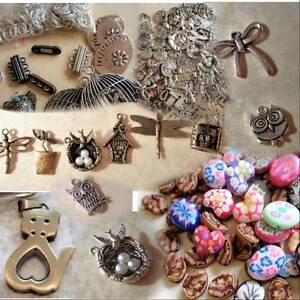 HUGE LOT OF MIXED JEWELLERY, BEADS, CHARMS, PENDANTS, ETC.. Claremont Nedlands Area Preview