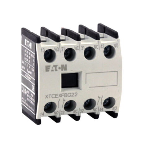 EATON Cutler-Hammer Miniature Contactor -AUXILIARY CONTACT  XTCEXFBG22