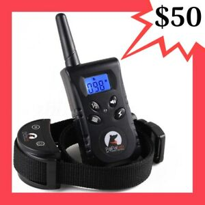 450M RECHARGEABLE 3 IN 1 DOG REMOTE TRAINING ANTI BARK COLLAR